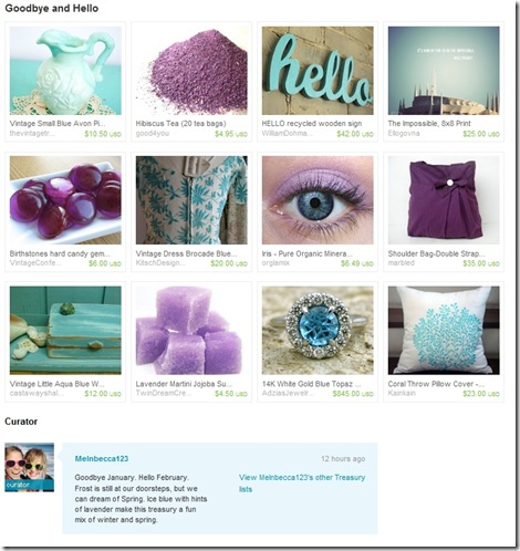 EtsyTreasury-BlueBrocadeDress