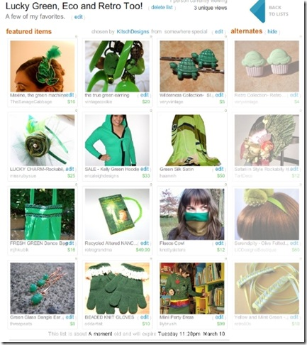 LuckyGreen,EcoAndRetroToo-Treasury